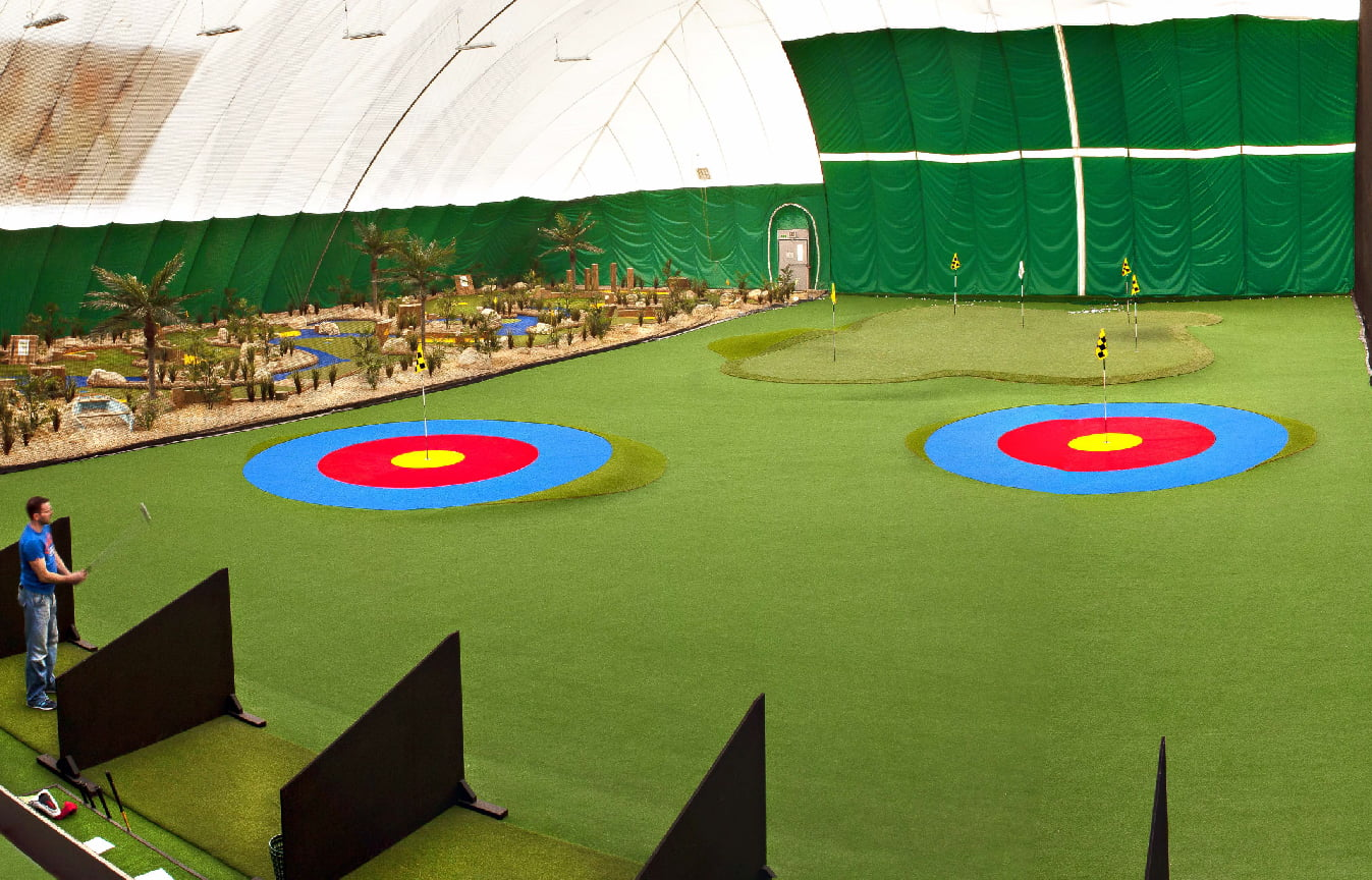 European Golf offer an extensive range of products and services for driving ranges to fully enhance the facilities.