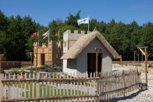Adventure golf house design