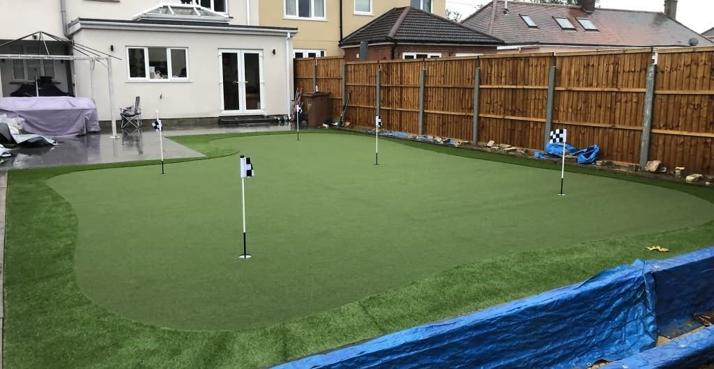 Synthetic Putting Greens home garden 2