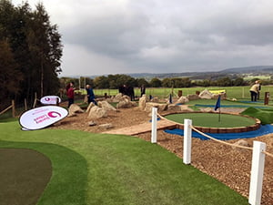 European Golf is fast becoming a leader in adventure golf installation and design, from crazy golf to full adventure golf courses European Golf can deliver.