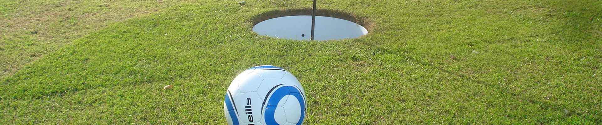 Foot Golf, is a revolution for sport. It combines the social aspect and elegance of Golf with the world's passion for football.