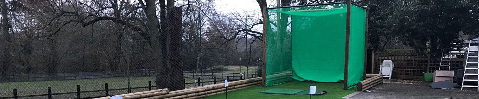 Our Pro Practice Cage is an ideal investment for pros or beginners who want to develop their drives and long shots in a safe and controlled environment.