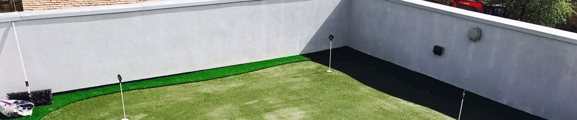 We can assist with a range of products to provide you with a professional putting green area, or a beautiful lawn to catch sunshine in a secluded space.