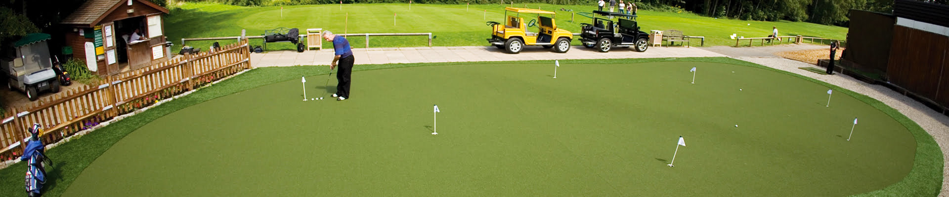 Short game putting green